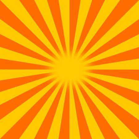 An abstract sunburst.