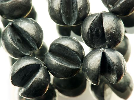 sinkers: Sinkers reflecting in a mirror Stock Photo