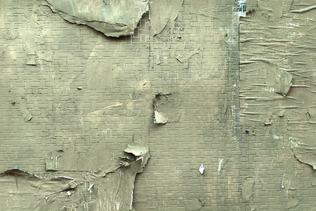 Peeled concrete wall texture, suitable for background use.