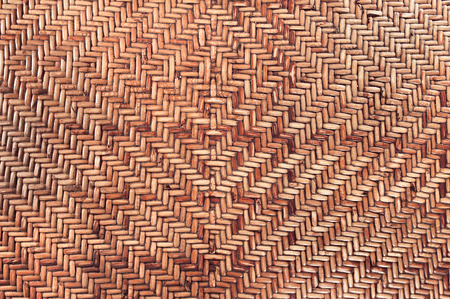 Rattan texture, natural handcrafted surface for background use. Archivio Fotografico