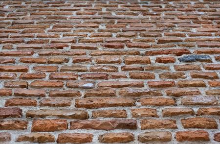 Brick wall background texture.