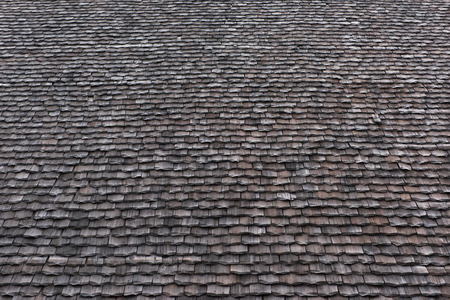 Rustic traditional vintage rooftop image suitable for background use. Archivio Fotografico