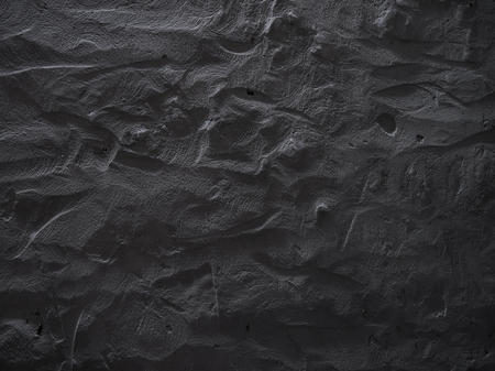 Dark grey concrete wall background. Raw concrete wall texture, customizable, suitable for background use. Archivio Fotografico