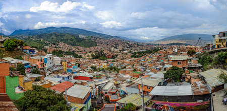 Overview of Medellín, Colombia, the second city of the country