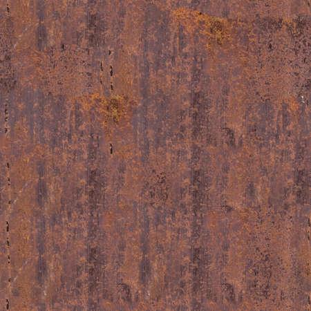Seamless texture of rusty iron