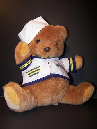 ahoy mattie teddy bear Standard-Bild