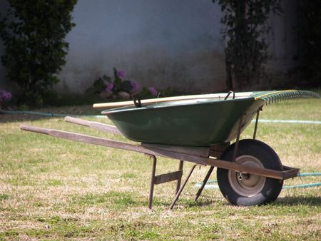 Gardening Reklamní fotografie