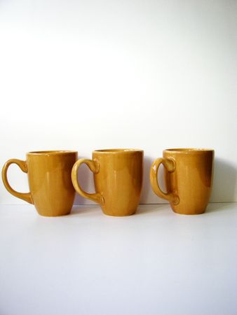 Coffee Cups Standard-Bild