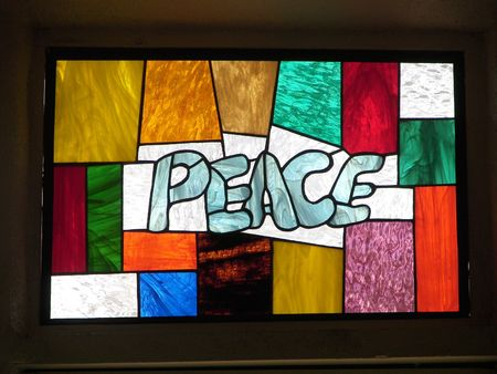 stained glass.....peace