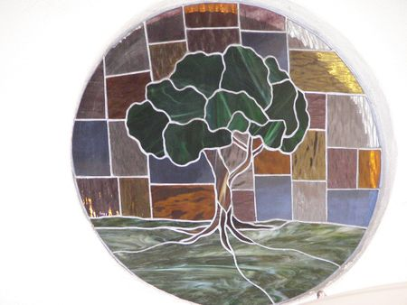 tree..stained glass