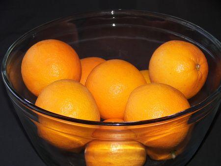 Bowl of Oranges Standard-Bild