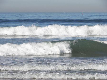 breaking: breaking waves Stock Photo