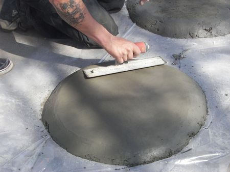 makeing a stepping stone