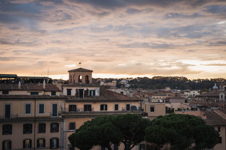 The city from the Vittorio Emanuele II monument in Rome Italy Reklamní fotografie