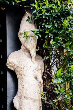 A statue of a Leprechaun in the streets of London