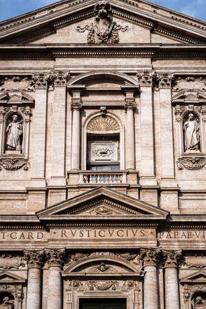 Santa Maria della Vittoria church in Rome, Italy