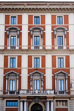 Mansion, typical mansion in the city of Rome, Italy