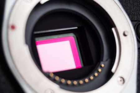 Photo sensor of a modern mirrorless camera
