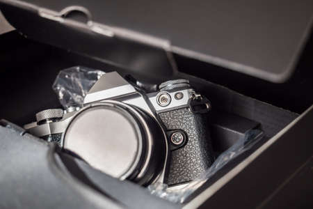 Returning a camera for repair to its manufacturer
