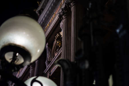 Intimist night at the Opera of Paris, France
