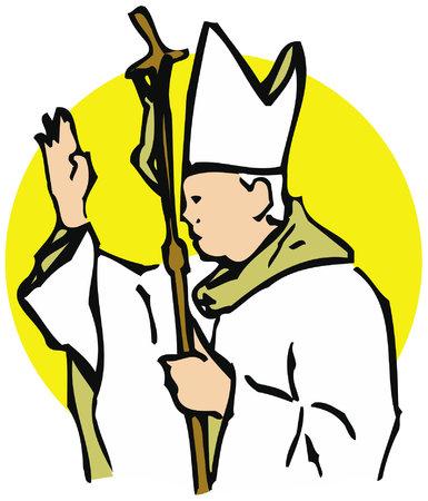 The Pope, maximum authority of the Roman Catholic Church.