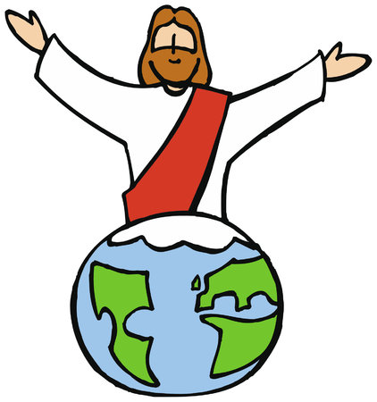 Jesus reigns the world