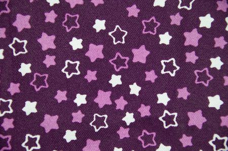 Weaved mauve and white multiple star pattern for background use  photo