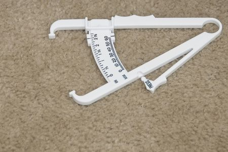 Body Fat Content Measuring Device to Indicate Body Fat  photo
