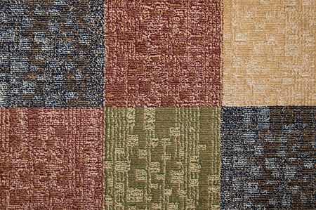 Carpet squares of different colors for background photo
