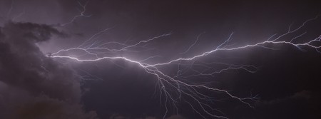 Banner image of a Massive cloud to cloud lightning strike Stock Photo - 7488456