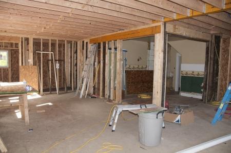 addition: Nouvel ajout de la construction �tant ajout� � la vieille maison