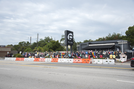 planned: Orlando Florida - August 9th 2016, Pulse Nightclub Memorial: Orlando Florida Pulse nightclub massacre memorial planned Editorial