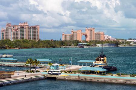 Nassau, Bahamas May16th, 2017: Alantis Resort and casino in Nassau Bahamas, May 16th, 2017