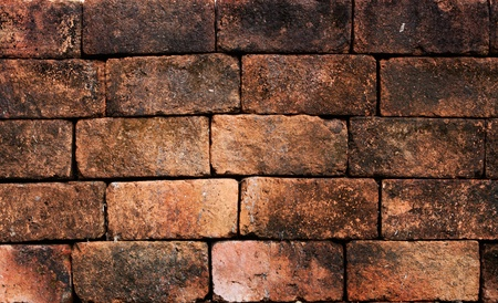 wall textures: old grunge brick wall Stock Photo