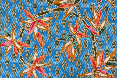 closeup pattern texture of general traditional thai style native photo