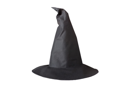 Halloween hat isolated on white