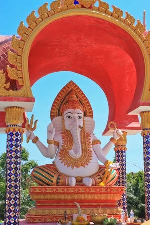 Ganesha statue in Thailand photo
