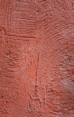 Red cement wall  Red cement wall  photo