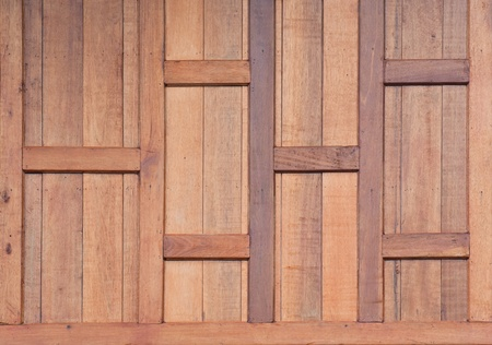 Teak wood wall background  photo