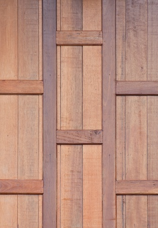 Teak wood wall background  photo
