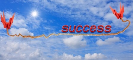 business concept ...success Stock Photo - 11707106
