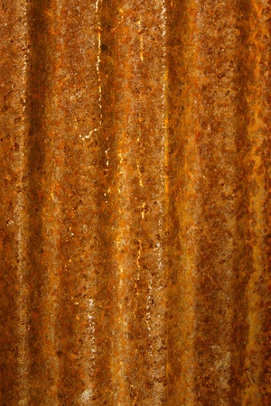 rusty metal texture - grunge zinc wall photo