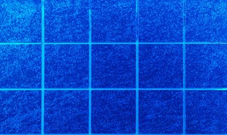 Blue tiles texture background,  photo