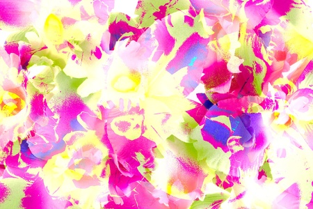 colorfull: abstract orchid surface background