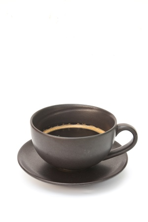 Hot coffee cup ,isolated Stock Photo - 12084591
