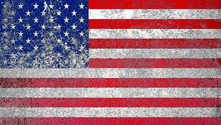 Grunge American flag background Stock Photo - 12657318