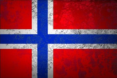 ion grunge Norway flag background photo