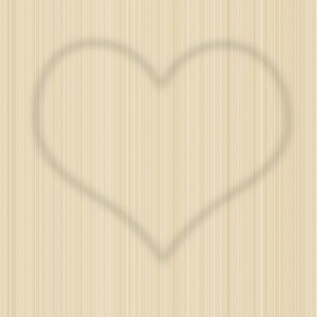 Drawing heart sign on high resolution artificial seamless wooden wallpaper photo
