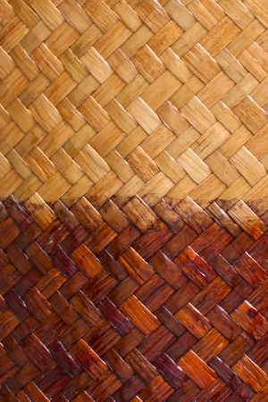 grunge two tone color bamboo background Stock Photo - 13418286