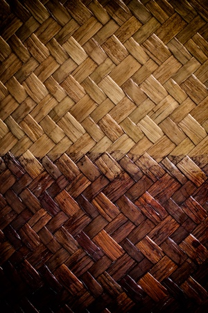 grunge two tone color bamboo background Stock Photo - 13418291